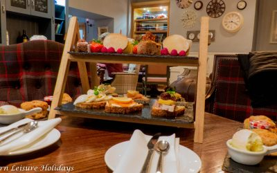 Dine In: Afternoon Tea for 2 at The Plough Boutique Inn, Alnwick