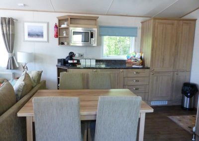 Stag Lodge dining area